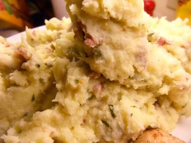 Basil Mashed Potatoes