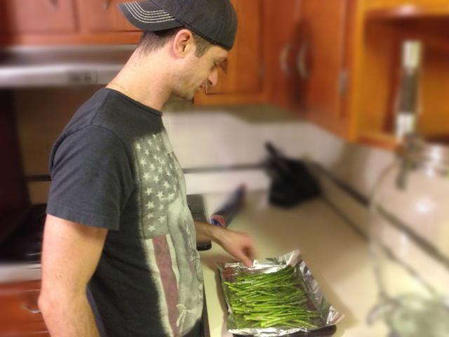 Joe asparagus