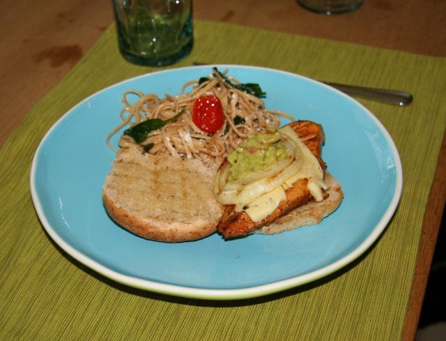 Lime Chile Chicken Sandwhich