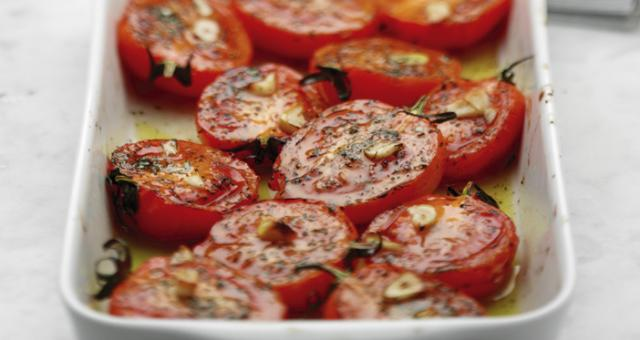 Oven-Roasted-Tomatoes